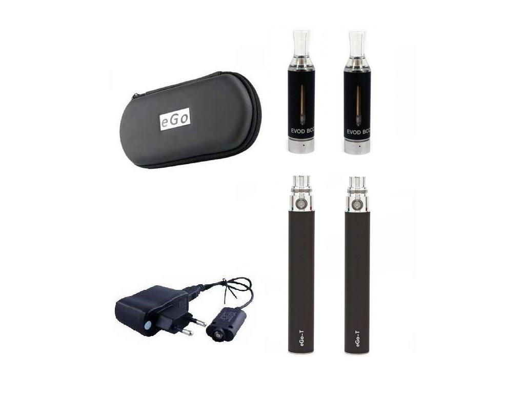 Elektronická cigareta Kangertech Evod 1300 mAh černá 2 ks