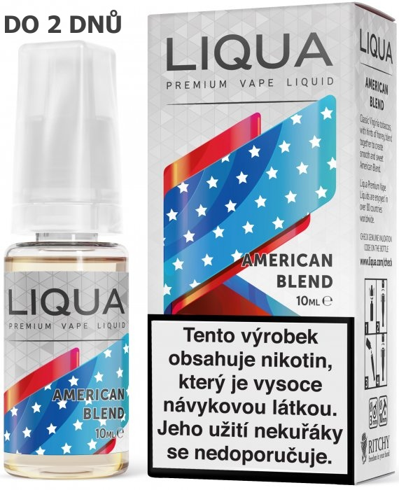 Liquid LIQUA American Blend 10ml-3mg