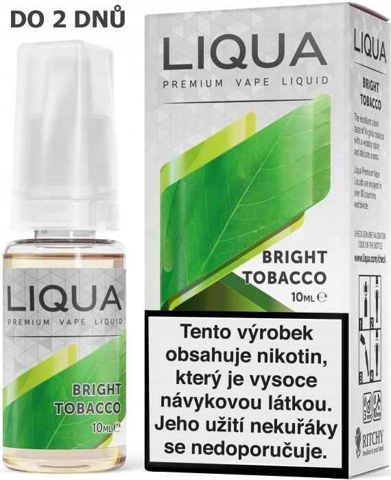 Liquid LIQUA  Bright Tobacco 10ml-18mg