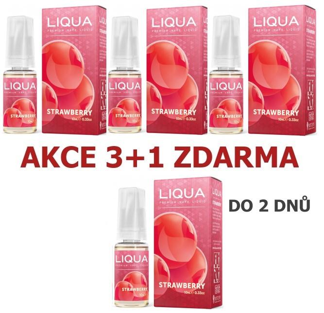 Liquid LIQUA Elements Strawberry 10ml-3mg (Jahoda)