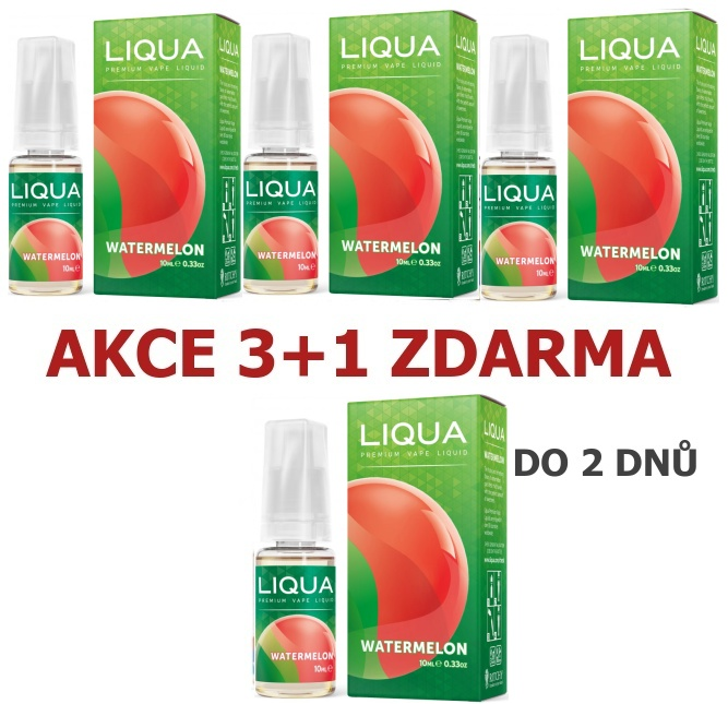 Liquid LIQUA Elements Watermelon 10ml-18mg (Vodní meloun)