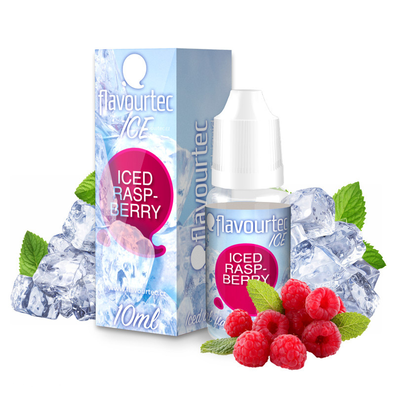 Liquid Flavourtec Ice Ledová malina (Iced Raspberry) 10ml  - 12mg