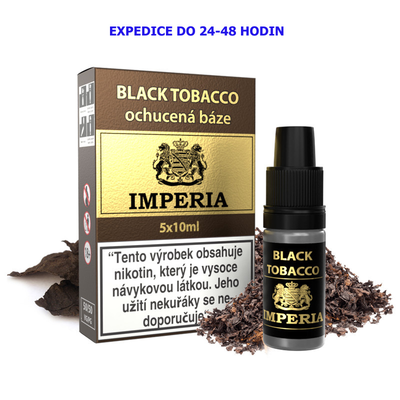 IMPERIA Black Tobacco 5x10ml PG50-VG50 18mg