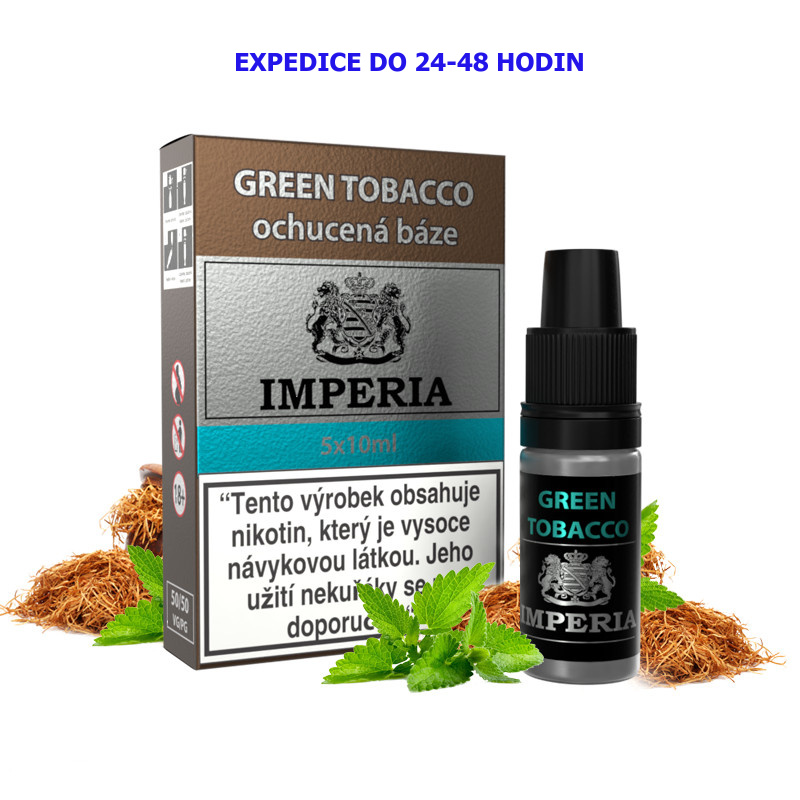 IMPERIA Green Tobacco 5x10ml PG50-VG50 6mg