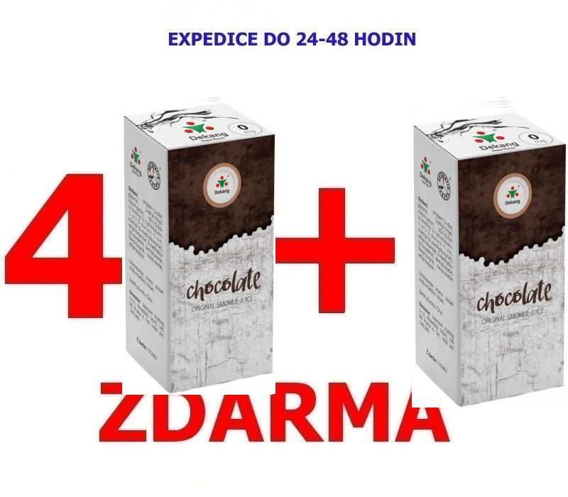 Liquid Dekang Chocolate (Čokoláda) 10ml-16mg 4+1 ZDARMA