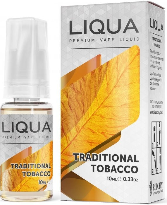 Liquid LIQUA Traditional Tobacco 10ml-18mg