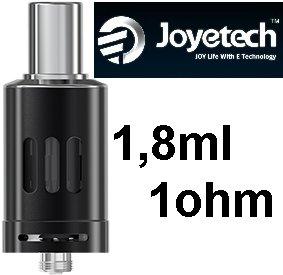 Joyetech eGo ONE Clearomizer 1ohm 1,8ml Black (Clearomizer Joyetech eGo ONE 1,8ml (1,0ohm) (Černý) )