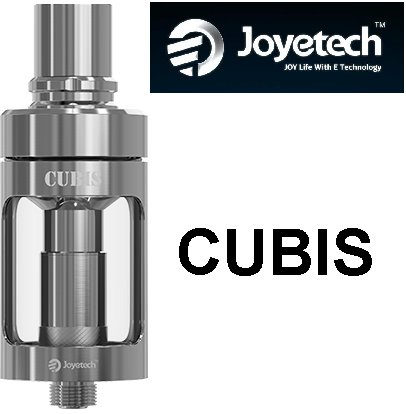 Joyetech CUBIS Clearomizer 3,5ml Silver