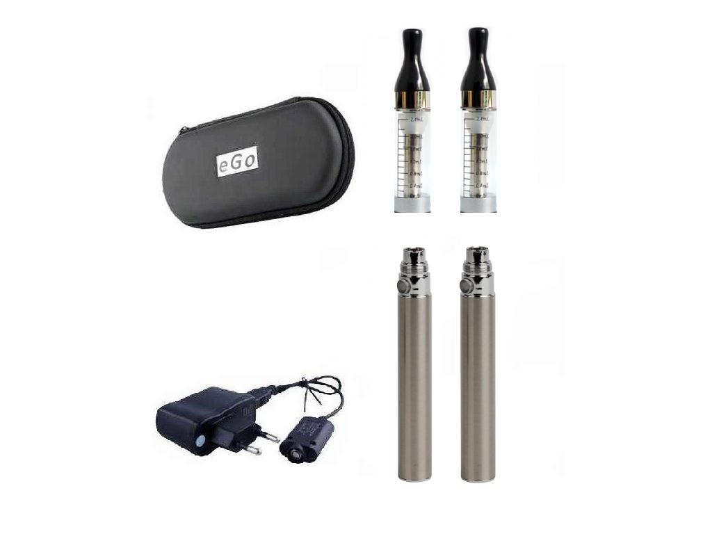 Elektronická cigareta Kangertech CC/T2 1100 mAh nerezová 2 ks