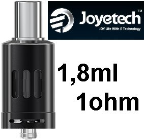 Joyetech eGo ONE Clearomizer 1ohm 1,8ml Black