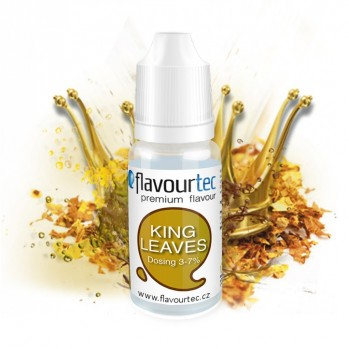 Příchuť Flavourtec King Leaves (Tabák) 10ml