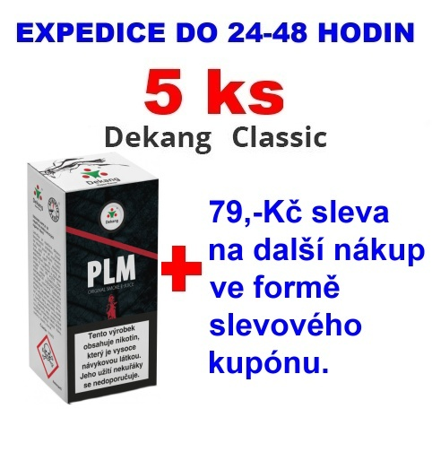 Liquid Dekang PLM 10ml - 18mg 5ks