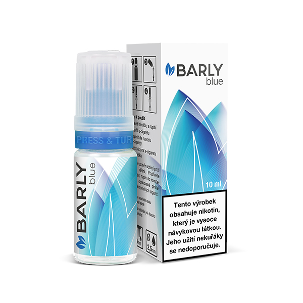 Liquid Barly Blue 10ml - 4 mg