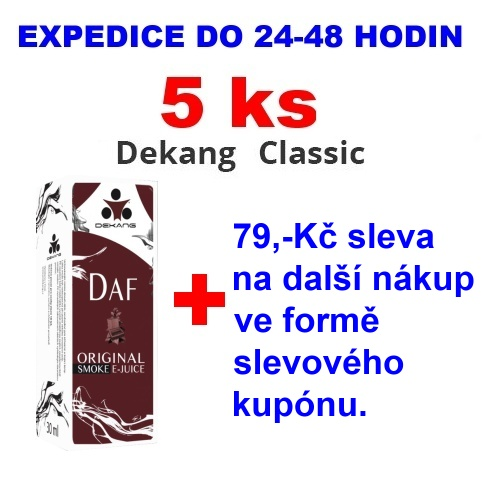 Liquid Dekang DAF 10ml - 18mg 5ks