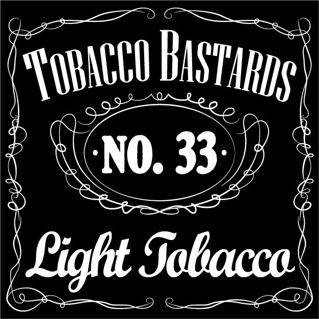 Tobacco Bastards No.33 Light Tobacco 10ml