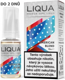Liquid LIQUA American Blend 10ml-0mg