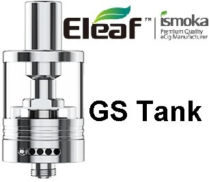 iSmoka-Eleaf GS Tank clearomizer 3ml Silver