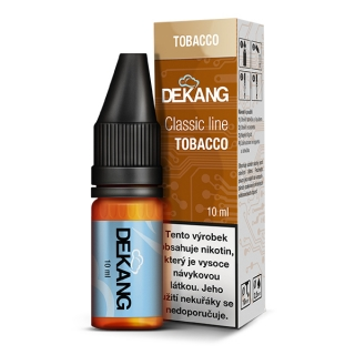 Liquid Dekang Tobacco 10ml - 12mg (tabák)