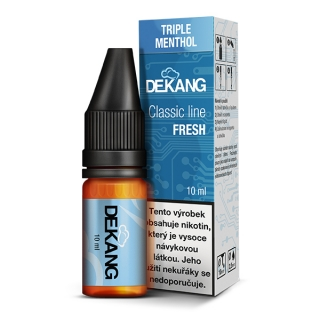 Liquid Dekang Triple Menthol 10ml - 12mg