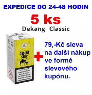 Liquid Dekang Desert ship 10ml - 6mg 5ks
