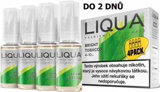 LIQUA 4Pack Bright tobacco 4x10ml-3mg