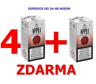Liquid Dekang Apple (Jablko) 10ml - 0mg 4+1 ZDARMA