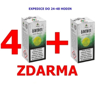 Liquid Dekang Banana (Banán) 10ml - 0mg 4+1 ZDARMA