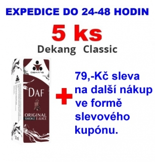Liquid Dekang DAF 10ml - 11mg 5ks
