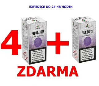 Liquid Dekang Blueberry (Borůvka) 10ml - 11mg 4+1 ZDARMA