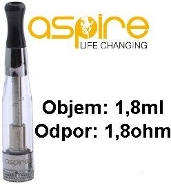 aSpire CE5 BDC Clearomizer 1,8ohm 1,8ml Clear
