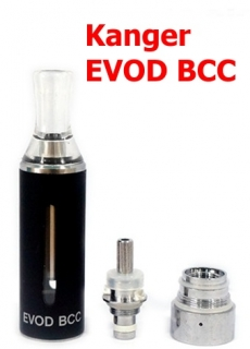 Kanger EVOD BCC Clearomizer Black 1,8ohm 1,6ml